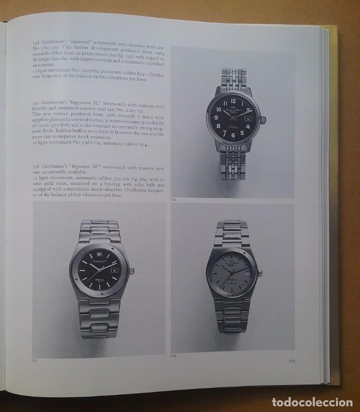 Relojes: IWC WATCH LUXURY INTERNATIONAL SCHAFFHAUSEN BOOK 1987 - Foto 11 - 136399946