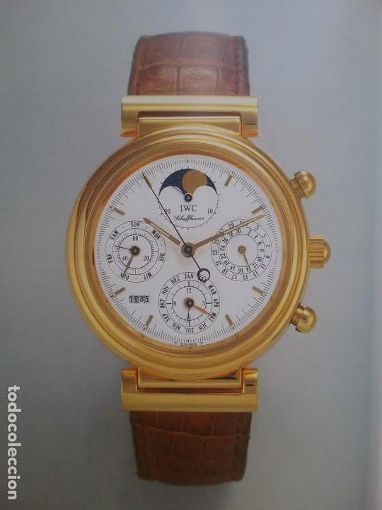 Relojes: IWC WATCH LUXURY INTERNATIONAL SCHAFFHAUSEN BOOK 1987 - Foto 15 - 136399946