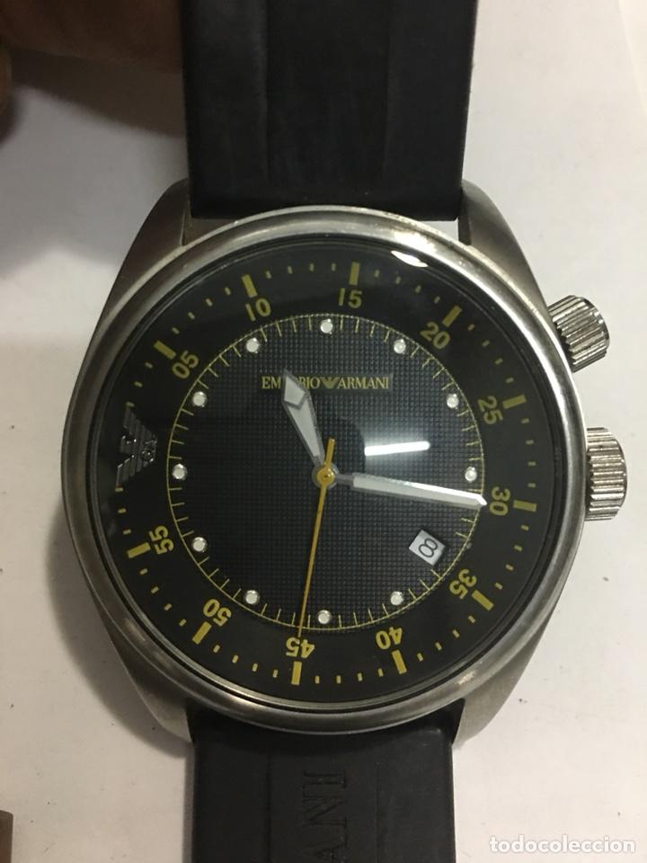 c0094ff0d322 10 fotos RELOJ EMPORIO ARMANI AR0516 MEN ROUND STEEL CON SU CAJA (Relojes -  Relojes Actuales ...