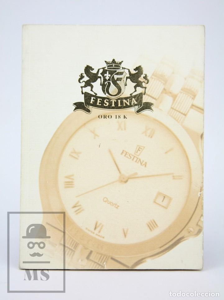 CATÁLOGO DE RELOJES DE PULSERA - FESTINA. ORO 18K - AÑOS 90 (Relojes - Relojes Actuales - Otros)