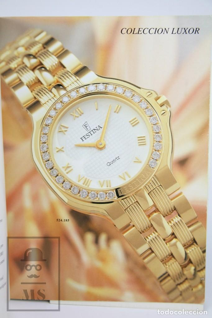Relojes: Catálogo de Relojes de Pulsera - Festina. Oro 18k - Años 90 - Foto 2 - 136779498