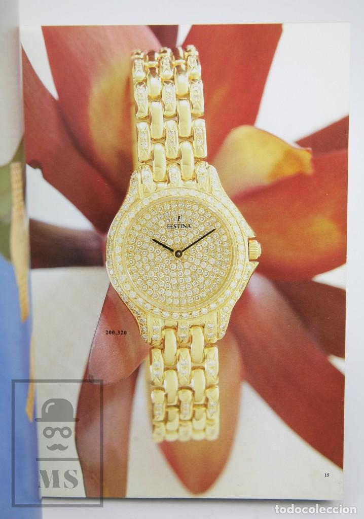 Relojes: Catálogo de Relojes de Pulsera - Festina. Oro 18k - Años 90 - Foto 3 - 136779498