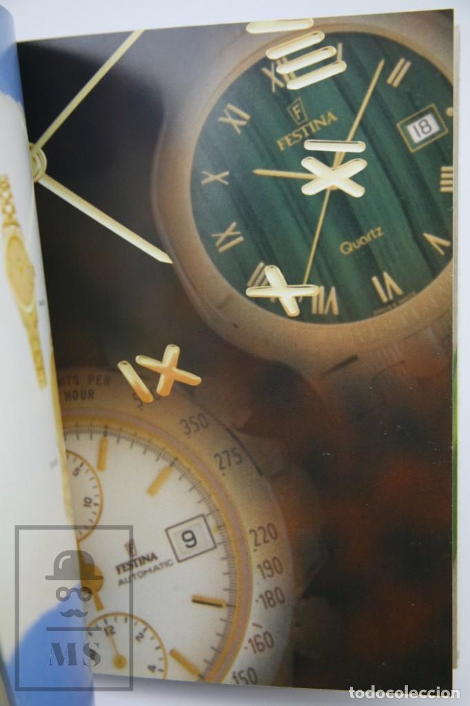 Relojes: Catálogo de Relojes de Pulsera - Festina. Oro 18k - Años 90 - Foto 4 - 136779498