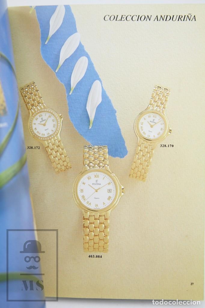 Relojes: Catálogo de Relojes de Pulsera - Festina. Oro 18k - Años 90 - Foto 5 - 136779498
