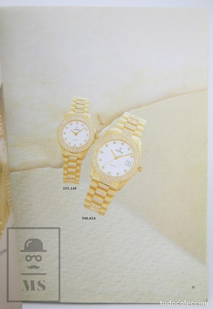 Relojes: Catálogo de Relojes de Pulsera - Festina. Oro 18k - Años 90 - Foto 7 - 136779498