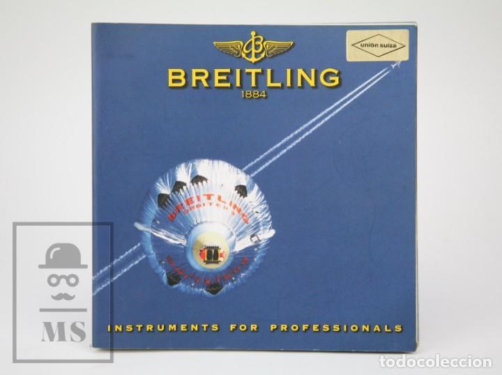 CATÁLOGO DE RELOJES DE PULSERA Y LISTA DE PRECIOS 1999-2000 - BREITLING. CHRONOLOG 2000 - AÑO 1994 (Relojes - Relojes Actuales - Otros)
