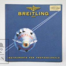 Relojes: CATÁLOGO DE RELOJES DE PULSERA Y LISTA DE PRECIOS 1999-2000 - BREITLING. CHRONOLOG 2000 - AÑO 1994. Lote 136780566