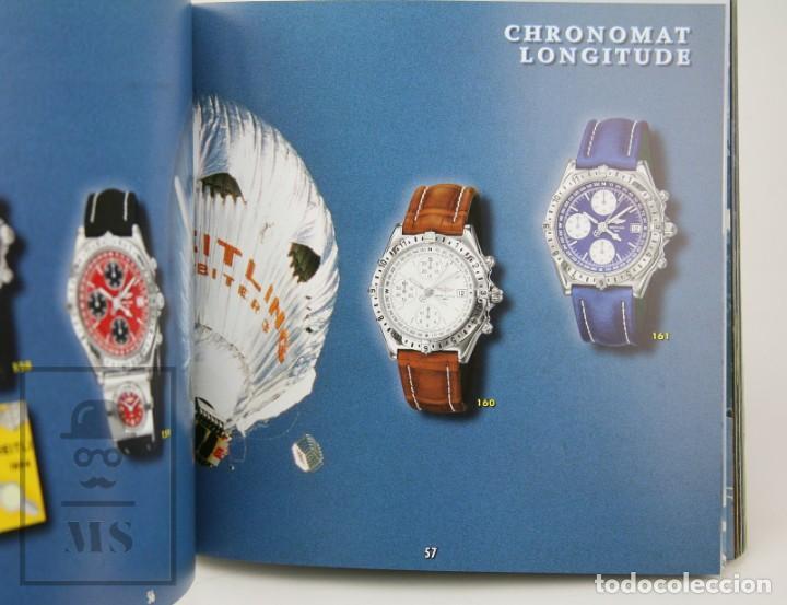 Relojes: Catálogo de Relojes de Pulsera y Lista de Precios 1999-2000 - Breitling. Chronolog 2000 - Año 1994 - Foto 3 - 136780566