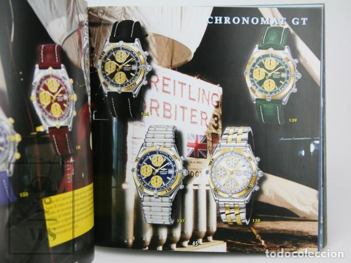 Relojes: Catálogo de Relojes de Pulsera y Lista de Precios 1999-2000 - Breitling. Chronolog 2000 - Año 1994 - Foto 4 - 136780566