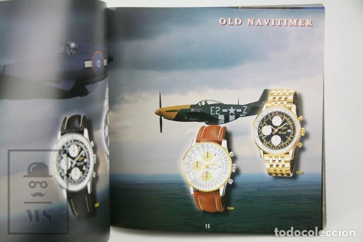 Relojes: Catálogo de Relojes de Pulsera y Lista de Precios 1999-2000 - Breitling. Chronolog 2000 - Año 1994 - Foto 7 - 136780566