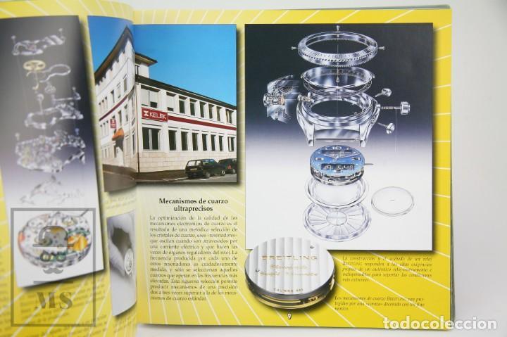 Relojes: Catálogo de Relojes de Pulsera y Lista de Precios 1999-2000 - Breitling. Chronolog 2000 - Año 1994 - Foto 8 - 136780566