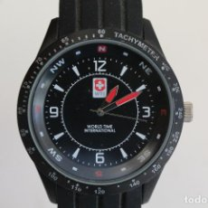 Relojes: RELOJ WORLD TIME INTERNATIONAL. Lote 137269730