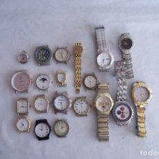 Relojes: LOTE DE 20 RELOJES QUARTZ SIN COMPROBAR Q42. Lote 137300822
