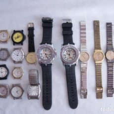 Relojes: LOTE DE 20 RELOJES QUARTZ SIN COMPROBAR Q43. Lote 137301122