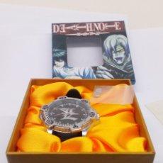 Relojes: RELOJ MANGA DEATH NOTE CON SU CAJA. Lote 142771076