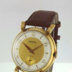 Relojes: BOUCHERON PLAQÈ ORO 18KT.VINAGE C.1937-40. Lote 137679730