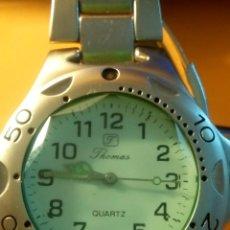 Relojes: RELOJ FHOMAS - QUARTZ. ACERO COMPLETO. PILA NUEVA. OTBRE 2019. 39.6 S/C. INFO EN DESCRIPCION. Lote 137793502