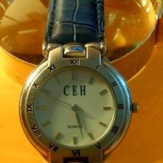 Relojes: RELOJ CEH - QUARTZ - FUNCIONANDO. NUEVA PILA OTBRE 2.019. 36.2 S/C INFO EN DESCRIPCION.. Lote 137880078