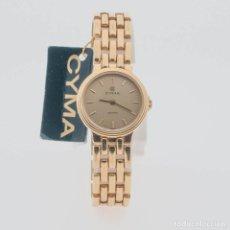 Relojes: RELOJ DE ORO CYMA DE MUJER. Lote 138822810