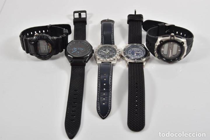 5X CABALLEROS RELOJES DE PULSERA (Relojes - Relojes Actuales - Otros)