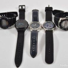 Relojes: 5X CABALLEROS RELOJES DE PULSERA. Lote 139131610