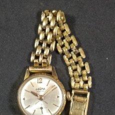 Relojes: RELOJ SEÑORA DOGMA PRIMA CARGA MANUAL ANCRE 19 RUBIES. Lote 139257910