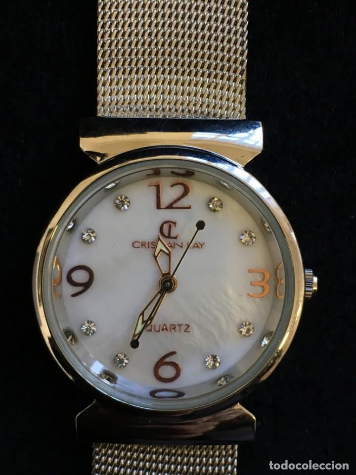 FANTASTICO RELOJ DE CUARZO DE LA MARCA CL CRISTIAN LAY, MUY BUEN ESTADO, NO PROBADO (Relojes - Relojes Actuales - Otros)