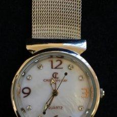 Relojes: FANTASTICO RELOJ DE CUARZO DE LA MARCA CL CRISTIAN LAY, MUY BUEN ESTADO, NO PROBADO. Lote 139322690