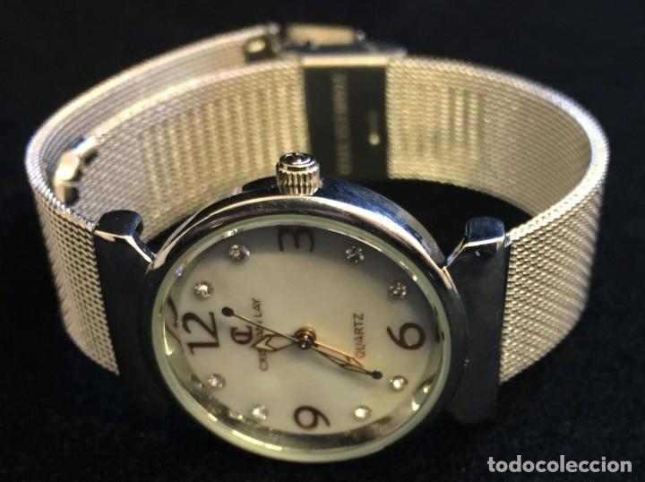 Relojes: FANTASTICO RELOJ DE CUARZO DE LA MARCA CL CRISTIAN LAY, MUY BUEN ESTADO, NO PROBADO - Foto 2 - 139322690