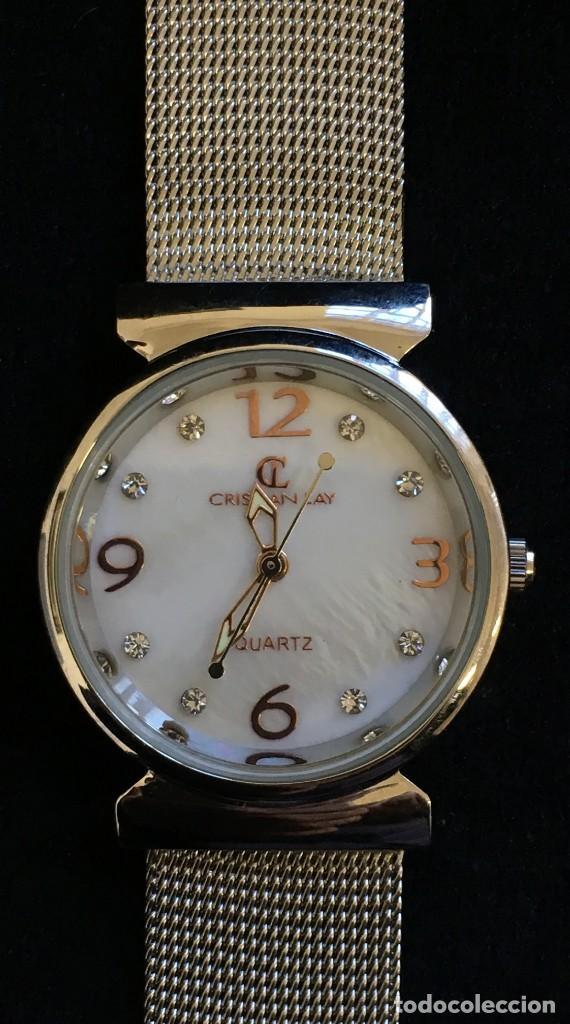 Relojes: FANTASTICO RELOJ DE CUARZO DE LA MARCA CL CRISTIAN LAY, MUY BUEN ESTADO, NO PROBADO - Foto 3 - 139322690