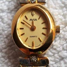 Relojes: RELOJ MUJER METAL QUARTZ AVIA 17.CM LARGO - CAJA 2.CM X 1.5.CM APROX. Lote 139620570