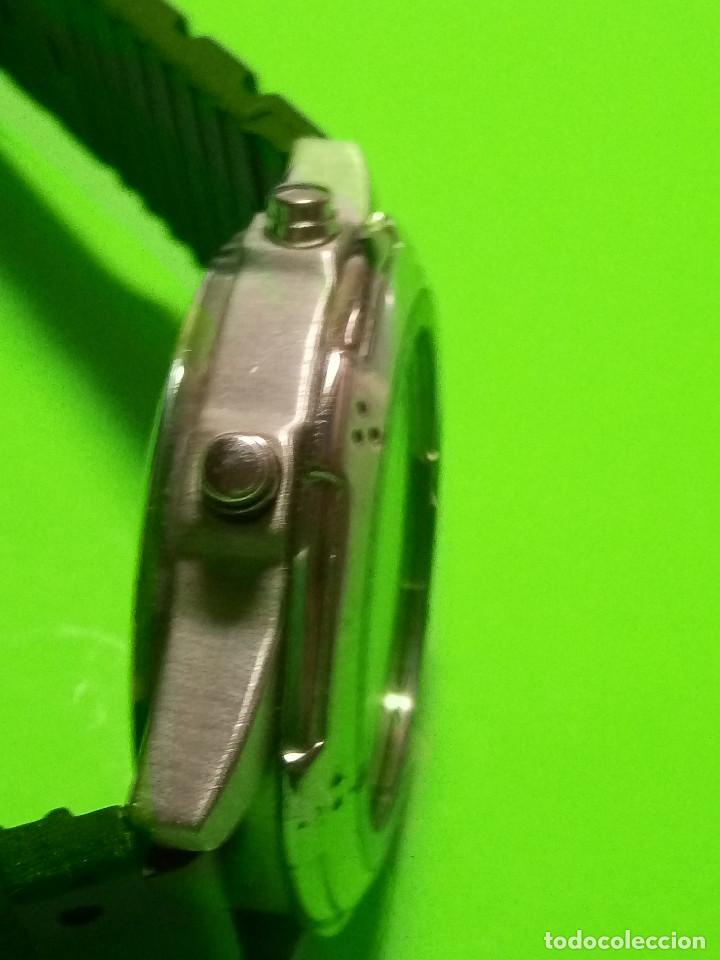 Relojes: RELOJ VINSENT. MULTIF. DIAL GIRATORIO. BATERIA. FUNCIONANDO. ACERO. 41 MM. S/C. INFO EN DESCRIPCION - Foto 6 - 139933314