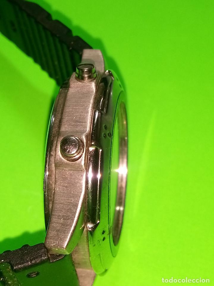 Relojes: RELOJ VINSENT. MULTIF. DIAL GIRATORIO. BATERIA. FUNCIONANDO. ACERO. 41 MM. S/C. INFO EN DESCRIPCION - Foto 7 - 139933314