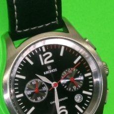 Relojes: KRONOS KLC 10 - ORIGINAL JAPONES. ACERO. FUNCIONAMIENTO EXACTO. 40 MM. INFO EN DESCRIPCION. Lote 139942074