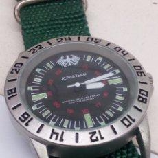 Relojes: RELOJ ALFA FORCE TIPO MILITAR. Lote 146521189