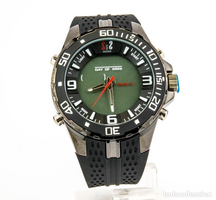 b358e1d129a5 5 fotos S S RELOJ DEPORTIVO PARA CABALLERO DIGITAL Y ANALÓGICO CON ESTUCHE  OFICIAL (Relojes - Relojes Actuales ...