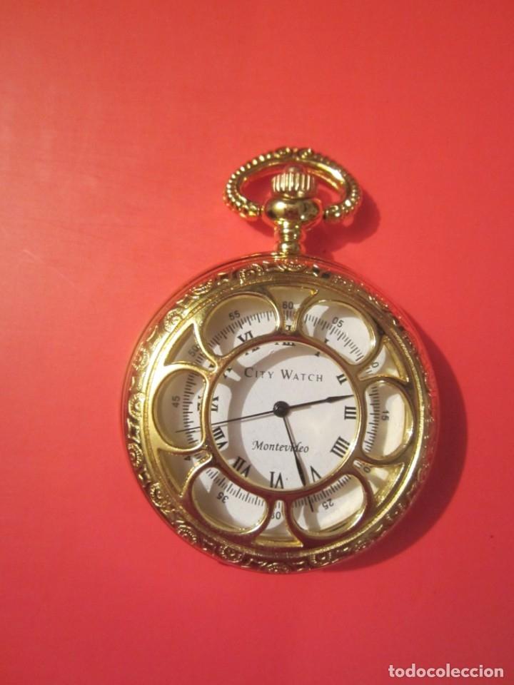 RELOJ DE BOLSILLO A PILAS (Relojes - Relojes Actuales - Otros)