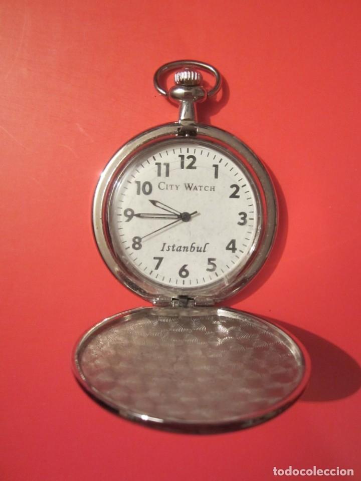 Relojes: RELOJ DE BOLSILLO A PILAS - Foto 2 - 46387204