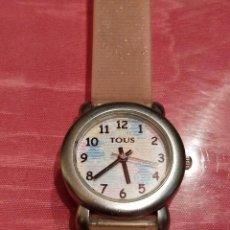 Relojes: RELOJ DE NIÑA TOUS ACERO INOXIDABLE CORREA DE GOMA Y WATER RESISTANT, 21.5CM, ESFERA 2.5CM. Lote 140233178