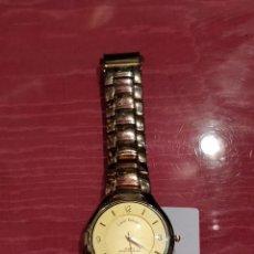 Relojes: RELOJ LOUIS VALENTIN, CUARZO RESISTENTE AL AGUA EN COLORES DORADOS. 4,5CM DE ESFERA CON PATAS.. Lote 140235730