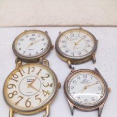 Relojes: RELOJES QUARTZ SIN CORREA EN FUNCIONAMIENTO. Lote 213325061