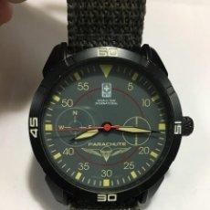 Relojes: RELOJ TIPO MILITAR WTI DE PARACA MOVIMIENTO JAPONES PC 21. Lote 140399278