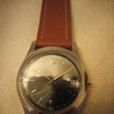 Relojes: RELOJ DE MUÑECA FRANCE,MAQUINARIA MADE IN HONG KONG,NUECO CORREA DE CUERO.MARCA HORA Y DATA.. Lote 140517870