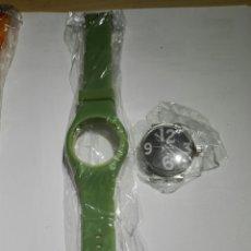 Relojes: RELOJ A PILA DE ESFERA INTERCAMBIABLES CON UNA CORREA. Lote 140527996