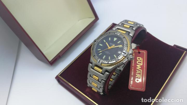 Relojes: RELOJ DUWARD AQUASTAR 10 ATM, STOCK DE ESCAPARATE, ESTILO DEPORTIVO - Foto 5 - 140605642