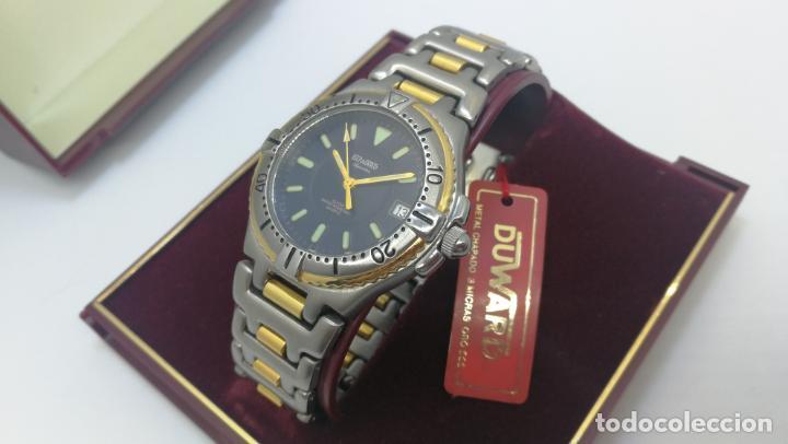 Relojes: RELOJ DUWARD AQUASTAR 10 ATM, STOCK DE ESCAPARATE, ESTILO DEPORTIVO - Foto 10 - 140605642