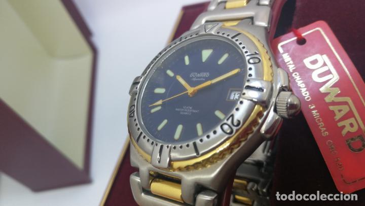 Relojes: RELOJ DUWARD AQUASTAR 10 ATM, STOCK DE ESCAPARATE, ESTILO DEPORTIVO - Foto 16 - 140605642