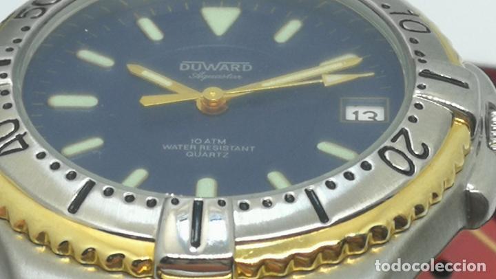 Relojes: RELOJ DUWARD AQUASTAR 10 ATM, STOCK DE ESCAPARATE, ESTILO DEPORTIVO - Foto 20 - 140605642
