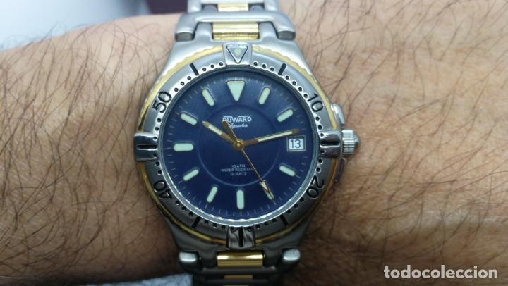 Relojes: RELOJ DUWARD AQUASTAR 10 ATM, STOCK DE ESCAPARATE, ESTILO DEPORTIVO - Foto 40 - 140605642