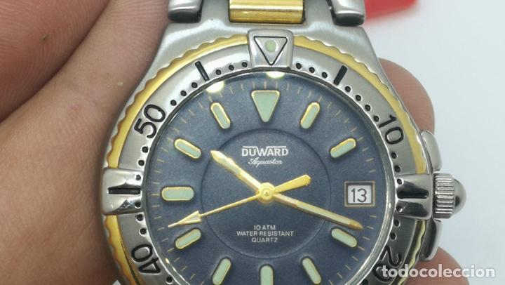 Relojes: RELOJ DUWARD AQUASTAR 10 ATM, STOCK DE ESCAPARATE, ESTILO DEPORTIVO - Foto 57 - 140605642